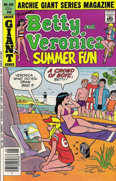 Cover for Archie Giant Series Magazine (Archie, 1954 series) #496