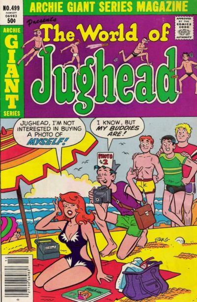 Cover for Archie Giant Series Magazine (Archie, 1954 series) #499