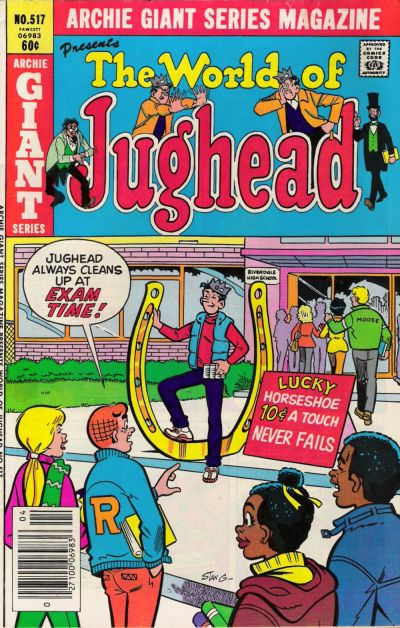 Cover for Archie Giant Series Magazine (Archie, 1954 series) #517