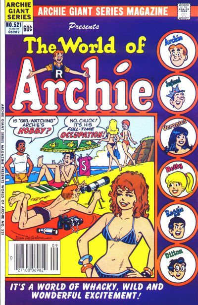 Cover for Archie Giant Series Magazine (Archie, 1954 series) #521