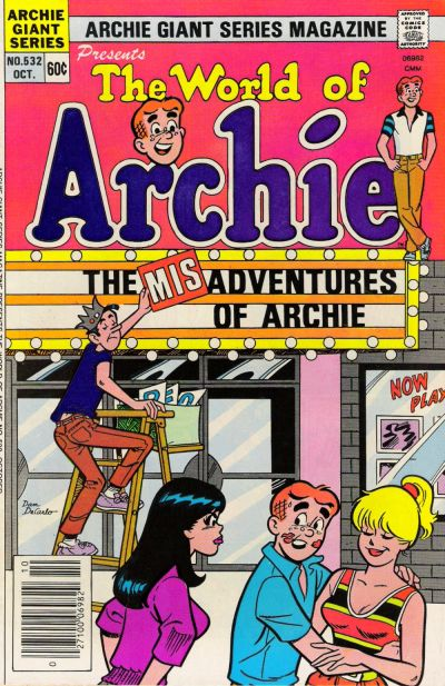 Cover for Archie Giant Series Magazine (Archie, 1954 series) #532