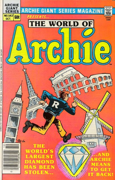 Cover for Archie Giant Series Magazine (Archie, 1954 series) #543