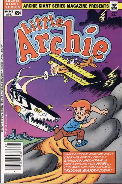 Cover for Archie Giant Series Magazine (Archie, 1954 series) #549