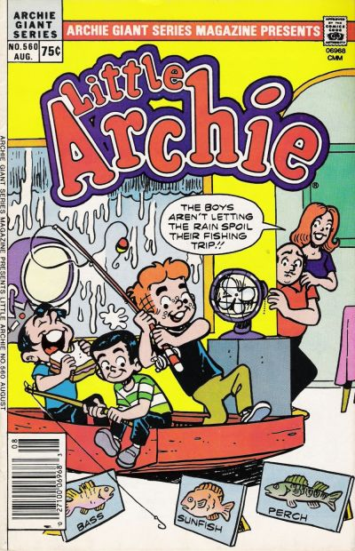 Cover for Archie Giant Series Magazine (Archie, 1954 series) #560