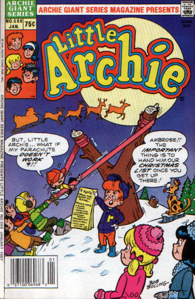 Cover for Archie Giant Series Magazine (Archie, 1954 series) #566