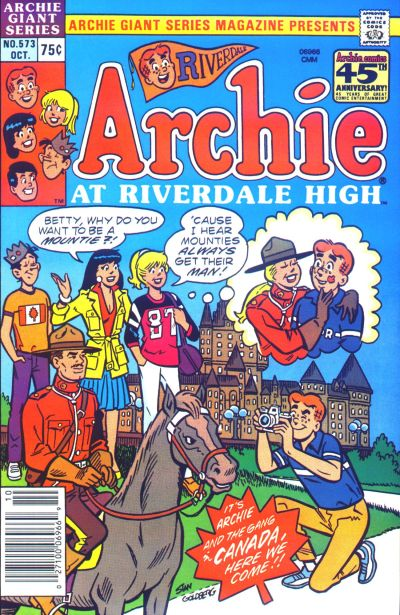 Cover for Archie Giant Series Magazine (Archie, 1954 series) #573