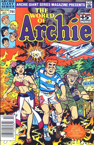 Cover for Archie Giant Series Magazine (Archie, 1954 series) #574