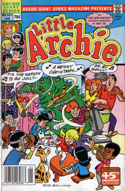 Cover for Archie Giant Series Magazine (Archie, 1954 series) #581