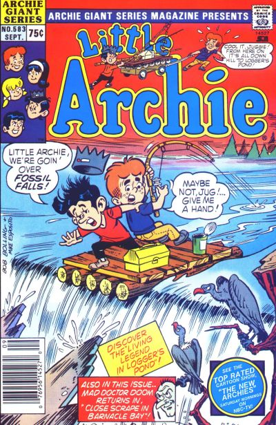 Cover for Archie Giant Series Magazine (Archie, 1954 series) #583