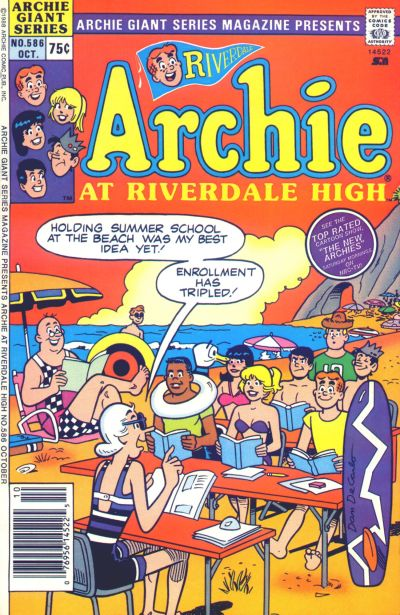 Cover for Archie Giant Series Magazine (Archie, 1954 series) #586