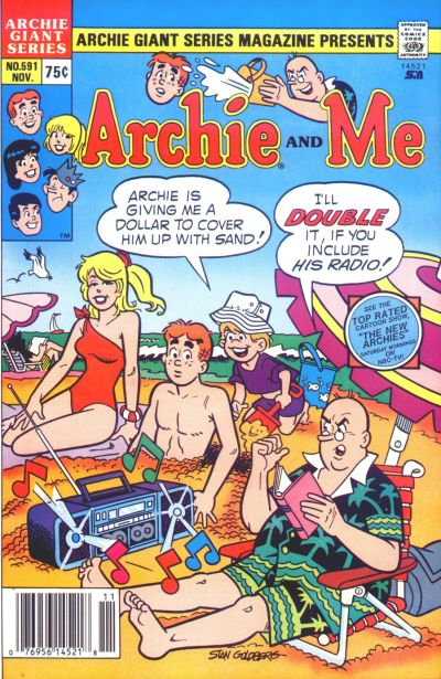 Cover for Archie Giant Series Magazine (Archie, 1954 series) #591