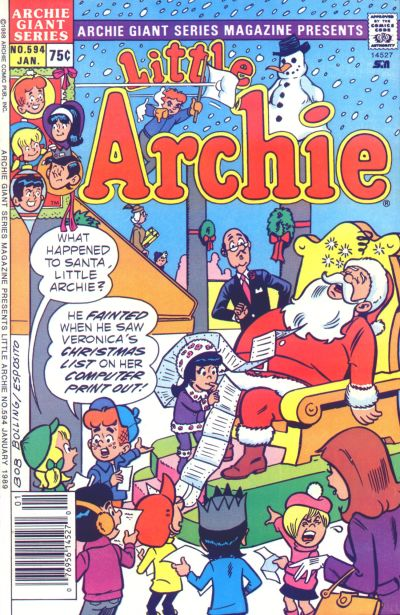 Cover for Archie Giant Series Magazine (Archie, 1954 series) #594
