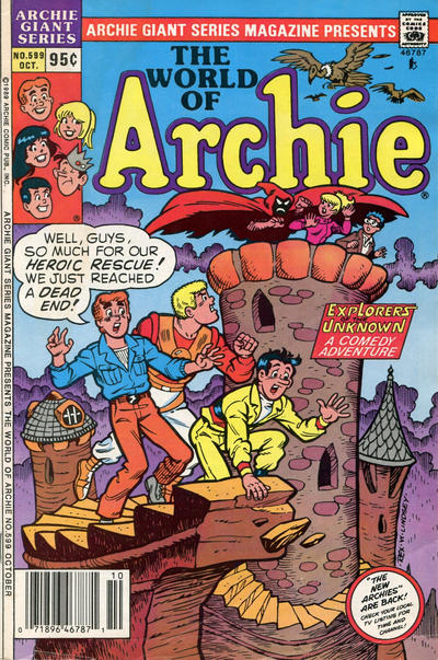 Cover for Archie Giant Series Magazine (Archie, 1954 series) #599