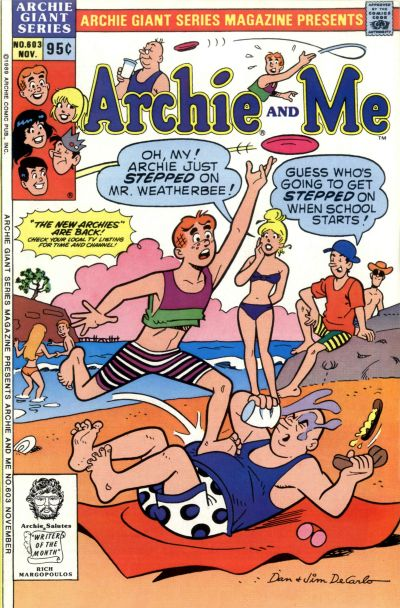 Cover for Archie Giant Series Magazine (Archie, 1954 series) #603