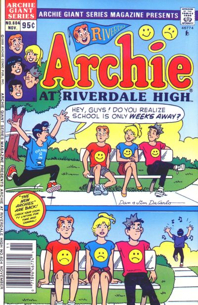 Cover for Archie Giant Series Magazine (Archie, 1954 series) #604