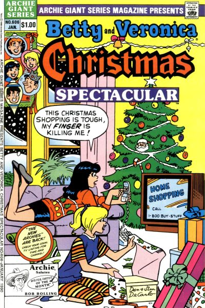 Cover for Archie Giant Series Magazine (Archie, 1954 series) #606