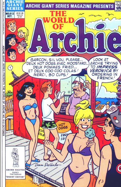 Cover for Archie Giant Series Magazine (Archie, 1954 series) #612