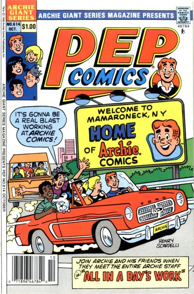 Cover for Archie Giant Series Magazine (Archie, 1954 series) #614