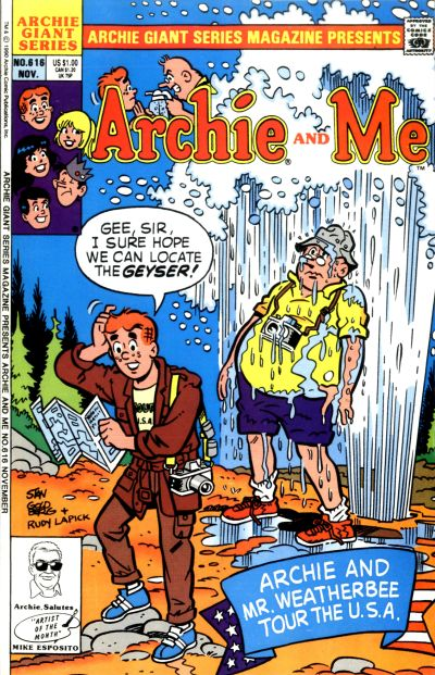 Cover for Archie Giant Series Magazine (Archie, 1954 series) #616
