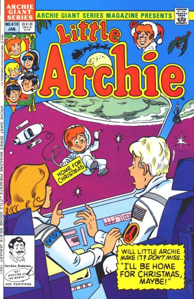 Cover for Archie Giant Series Magazine (Archie, 1954 series) #619