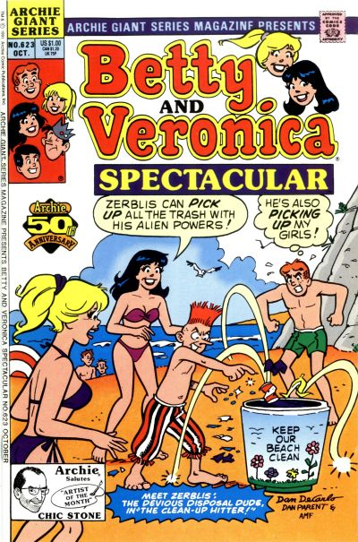 Cover for Archie Giant Series Magazine (Archie, 1954 series) #623