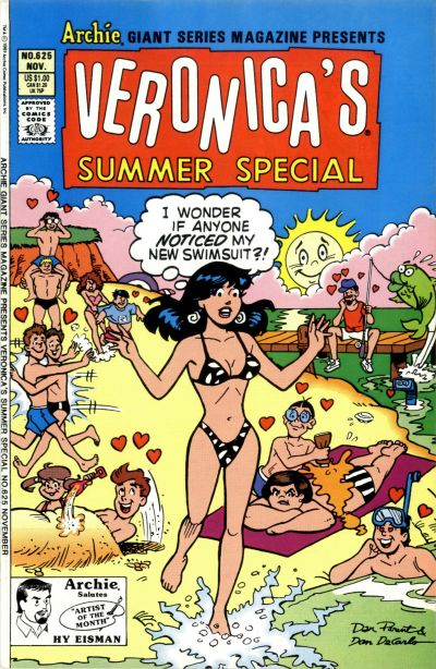 Cover for Archie Giant Series Magazine (Archie, 1954 series) #625 [Direct Edition]