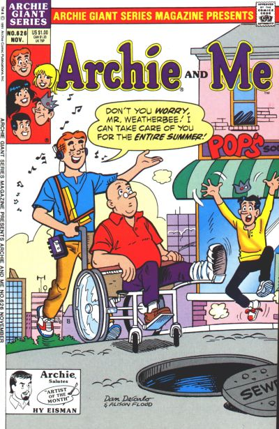 Cover for Archie Giant Series Magazine (Archie, 1954 series) #626