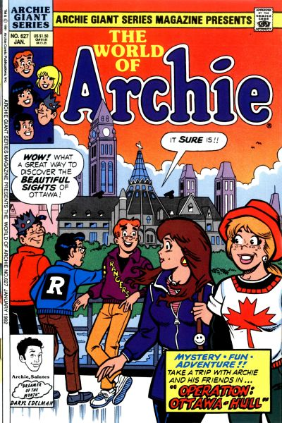 Cover for Archie Giant Series Magazine (Archie, 1954 series) #627