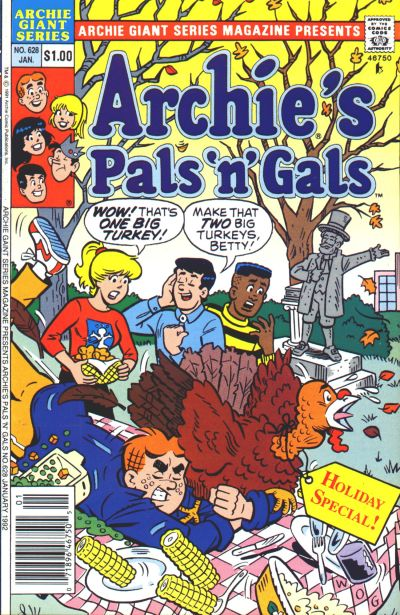 Cover for Archie Giant Series Magazine (Archie, 1954 series) #628