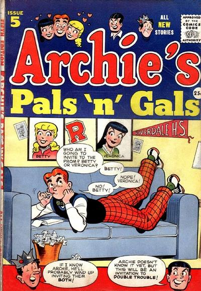 Cover for Archie's Pals 'n' Gals (Archie, 1952 series) #5