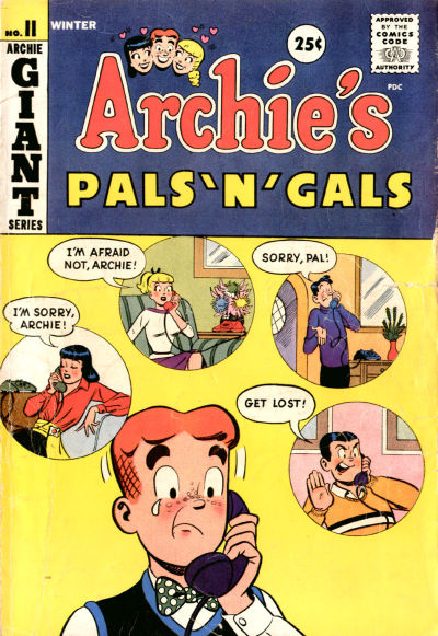 Cover for Archie's Pals 'n' Gals (Archie, 1952 series) #11