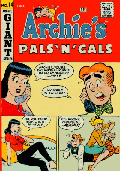 Cover for Archie's Pals 'n' Gals (Archie, 1952 series) #14