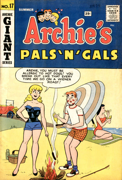 Cover for Archie's Pals 'n' Gals (Archie, 1952 series) #17