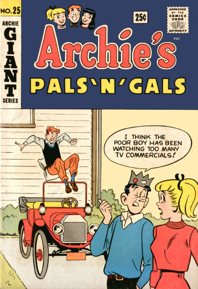 Cover for Archie's Pals 'n' Gals (Archie, 1952 series) #25