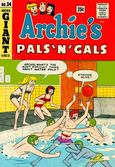 Cover for Archie's Pals 'n' Gals (Archie, 1952 series) #34
