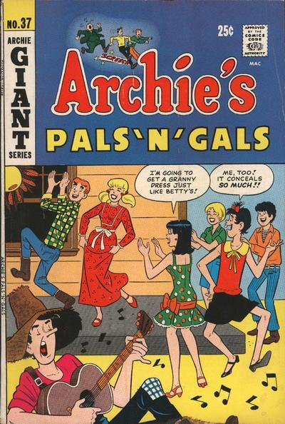 Cover for Archie's Pals 'n' Gals (Archie, 1952 series) #37