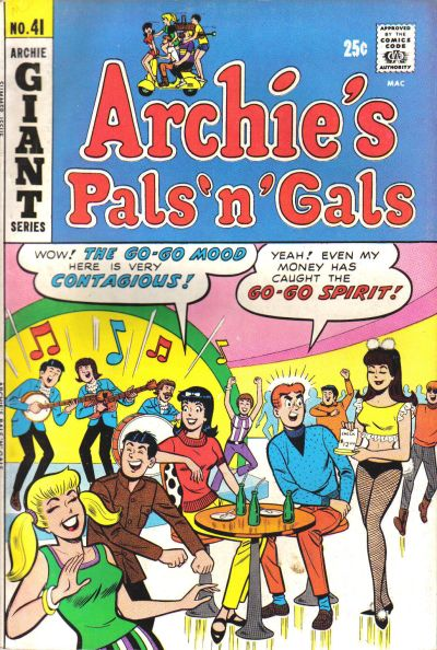 Cover for Archie's Pals 'n' Gals (Archie, 1952 series) #41