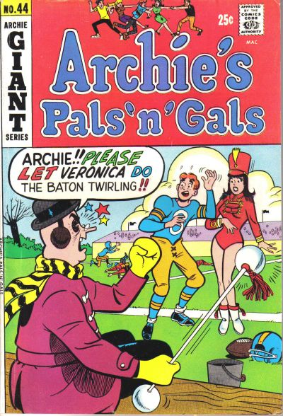 Cover for Archie's Pals 'n' Gals (Archie, 1952 series) #44