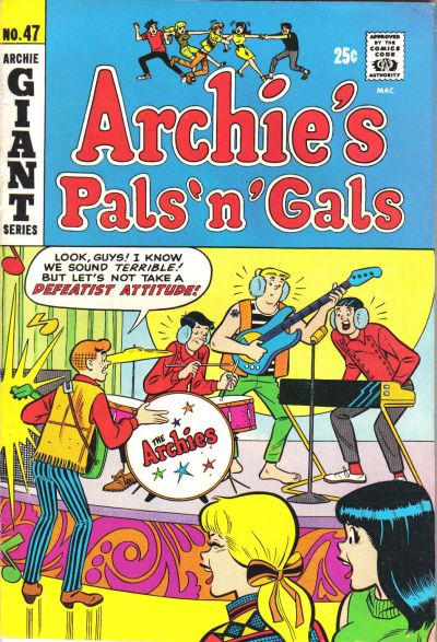 Cover for Archie's Pals 'n' Gals (Archie, 1952 series) #47