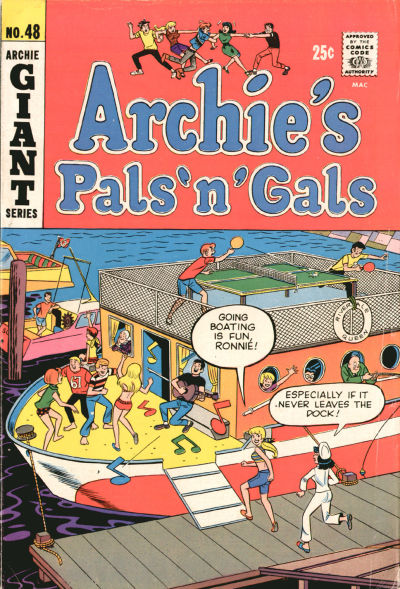 Cover for Archie's Pals 'n' Gals (Archie, 1952 series) #48