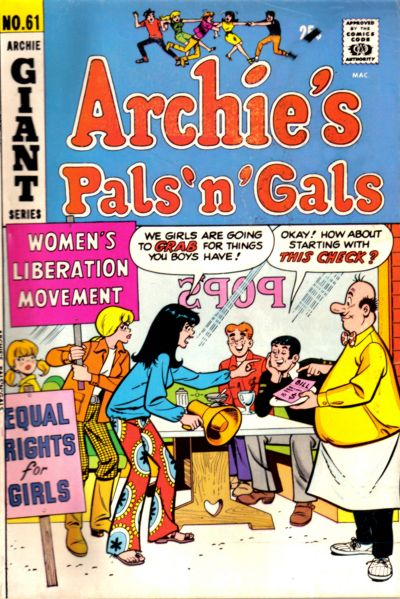 Cover for Archie's Pals 'n' Gals (Archie, 1952 series) #61