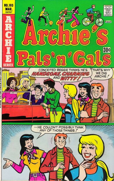 Cover for Archie's Pals 'n' Gals (Archie, 1952 series) #103