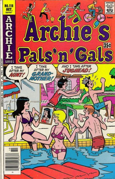 Cover for Archie's Pals 'n' Gals (Archie, 1952 series) #118