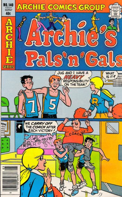 Cover for Archie's Pals 'n' Gals (Archie, 1952 series) #140