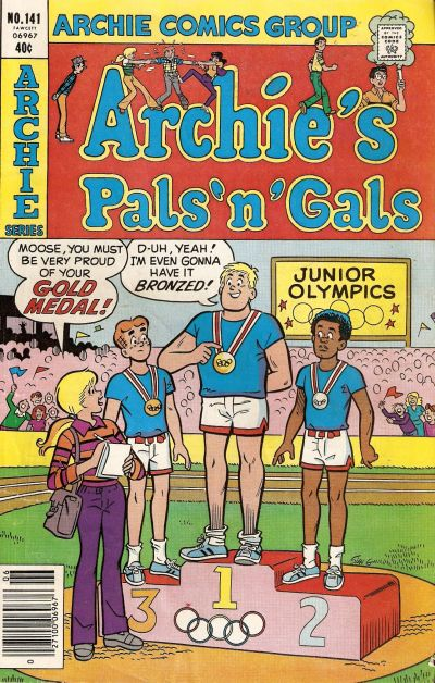Cover for Archie's Pals 'n' Gals (Archie, 1952 series) #141