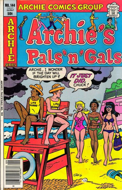Cover for Archie's Pals 'n' Gals (Archie, 1952 series) #144