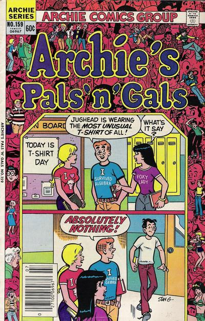 Cover for Archie's Pals 'n' Gals (Archie, 1952 series) #159