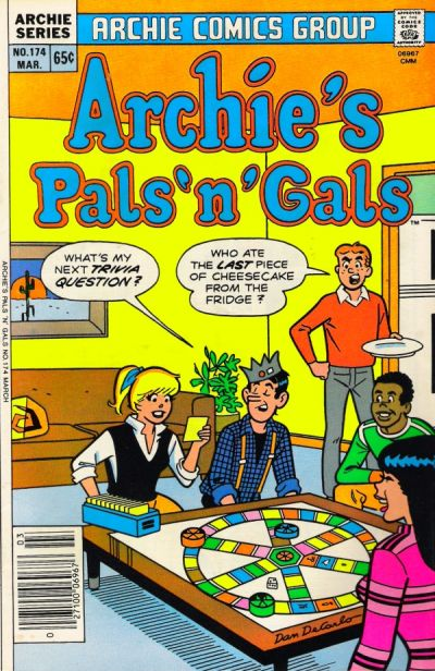Cover for Archie's Pals 'n' Gals (Archie, 1952 series) #174