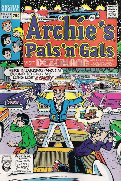 Cover for Archie's Pals 'n' Gals (Archie, 1952 series) #202