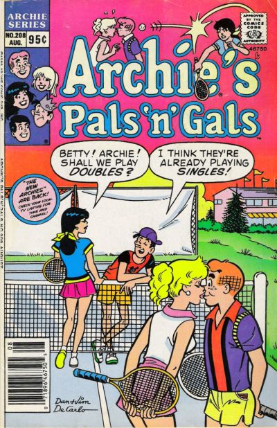 Cover for Archie's Pals 'n' Gals (Archie, 1952 series) #208